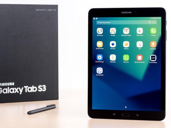 Galaxy Tab S3 & Tab A (2017): Android 9 Pie-Update in Asien gestartet