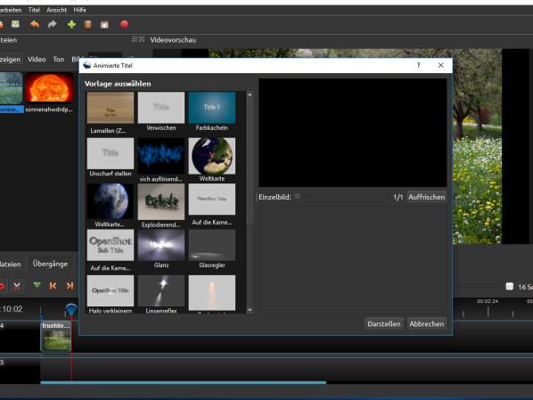 OpenShot Video Editor - Download - NETZWELT