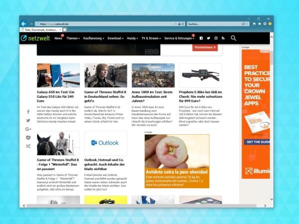 Windows 10: Sicherheitslücke im Internet Explorer gefährdet jeden PC