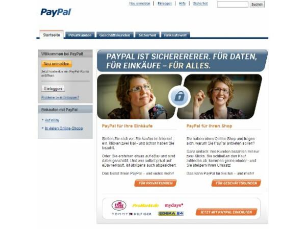 muss man paypal konto aufladen