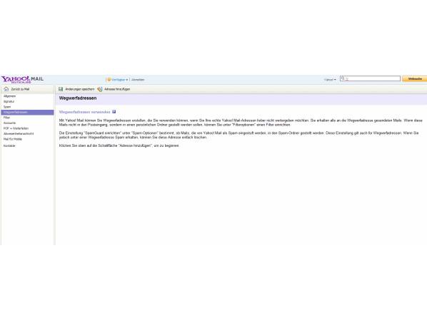 21cd96c05c3cc6 Schutz vor Spam: Wegwerfadressen bei Freemailern einrichten - NETZWELT