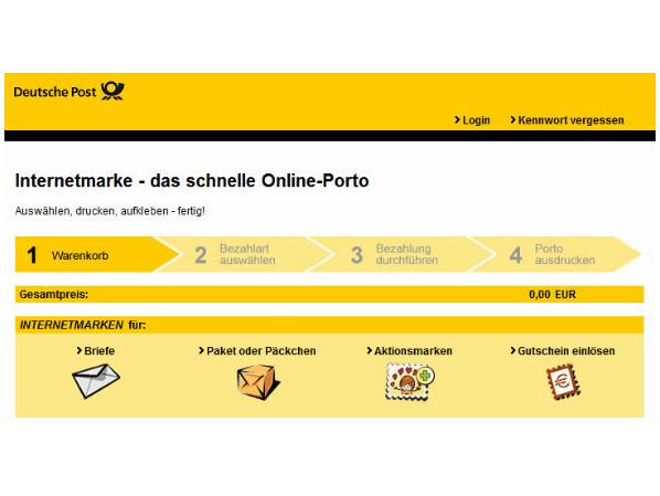 Briefe Mit Deutsche Post Antwort : Anleitung briefe und pakete frankieren mit der
