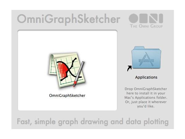 omnigraphsketcher im test diagramme und graphen zeichnen netzwelt. Black Bedroom Furniture Sets. Home Design Ideas