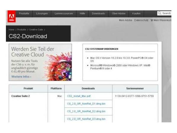 Adobe Creative Suite 2 als Gratis-Download - NETZWELT