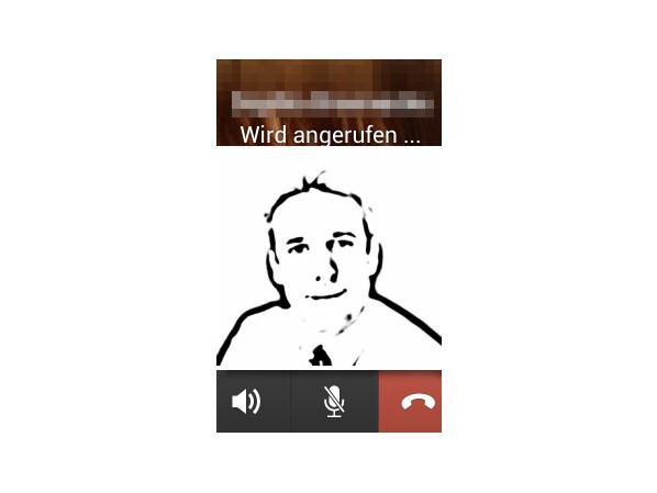 Messenger Anruf