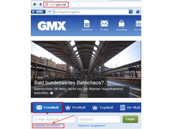 gmx at anmelden kostenlos