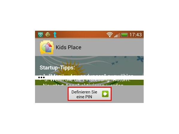 Stellen Sie die Kindersicherung bei Google ein