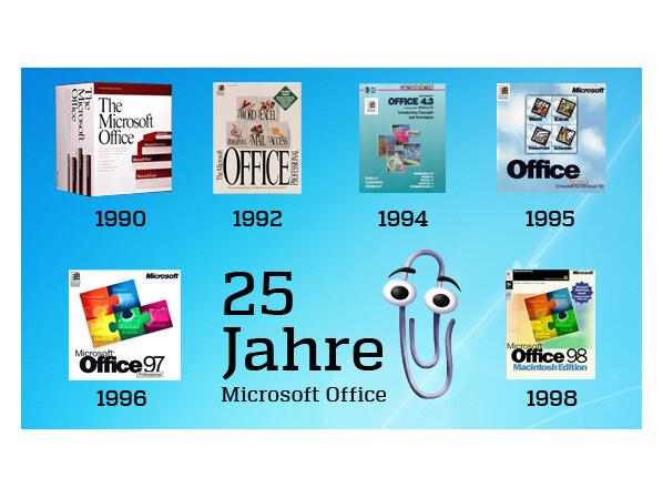 25 Jahre Ms Office Erinnern Sie Sich Noch An Karl Klammer Netzwelt
