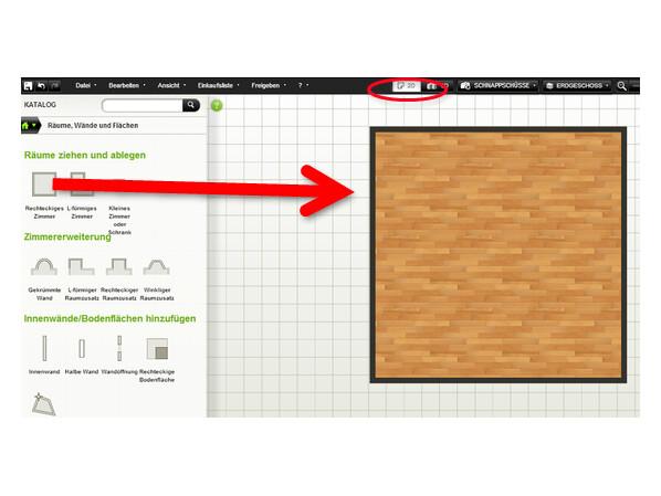autodesk homestyler erste schritte mit dem online raumplaner netzwelt. Black Bedroom Furniture Sets. Home Design Ideas