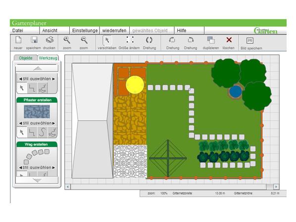 Gartenplanung n tzliche freeware im berblick netzwelt - Gartenplaner software freeware ...