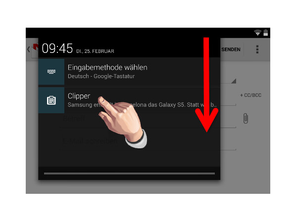 Kopieren Sie Den Text Android Gmail Login