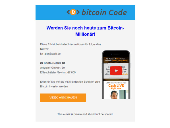 """The bitcoin code"" is a fake"