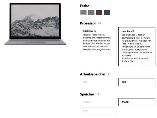 surface laptop bis zum valentinstag deutlich g nstiger. Black Bedroom Furniture Sets. Home Design Ideas