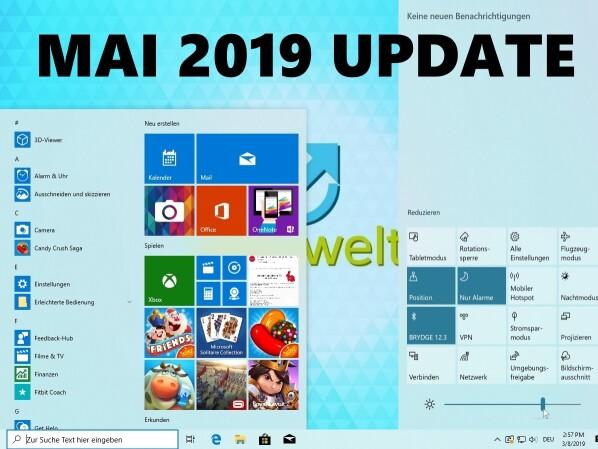Windows 10 Mai 2019 Update: Microsoft nimmt sich mehr Zeit ...  Windows 10 Mai ...