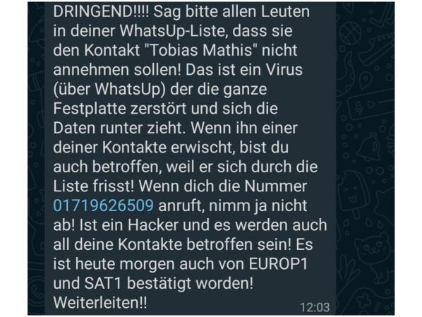 whatsapp liebes kettenbriefe