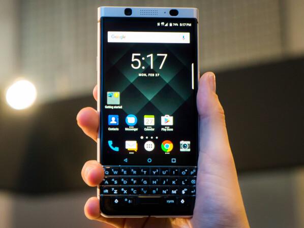 Einrichten von BlackBerry Protect auf dem Handy