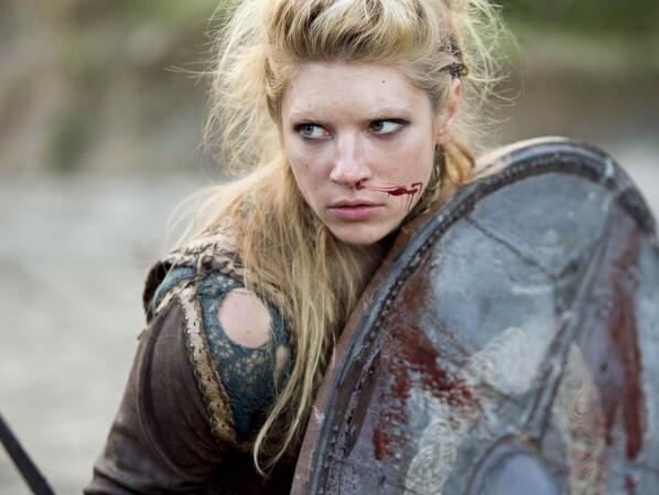 Vikings: Lagertha feiert mit Odin in Walhalla