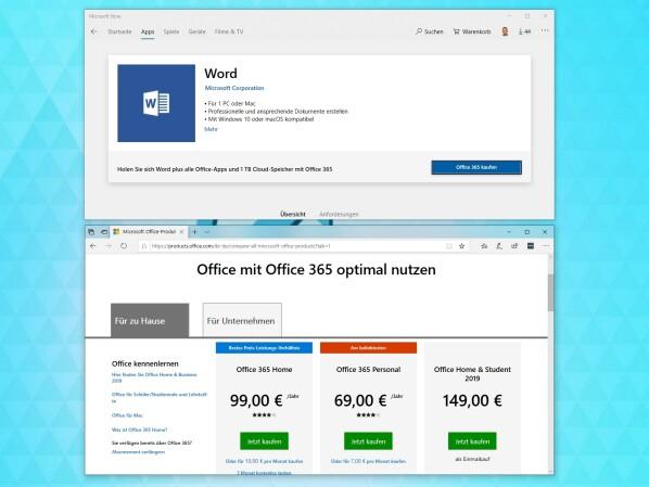 Office: Microsoft entfernt Bürosuite aus dem eigenen Store