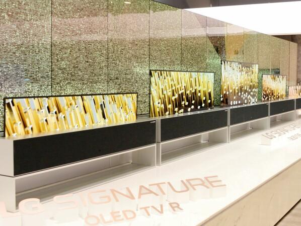 "LG Signature OLED TV R: Das ""R"" Steht Für ""rollbar"""