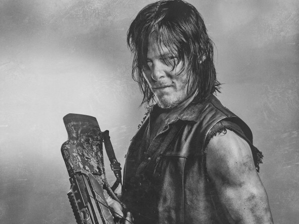 Walking Dead Daryl Coloring Pages