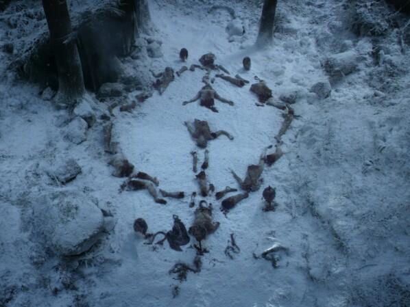 Game of Thrones Staffel 8: Das bedeuten die Weißen Wanderer-Symbole