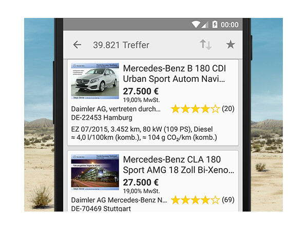 mobile.de - mobile Autobörse - Download - NETZWELT