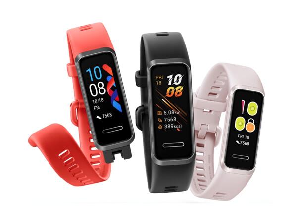 Huawei Band 4-Serie: Drei neue Fitness-Tracker jetzt verfügbar