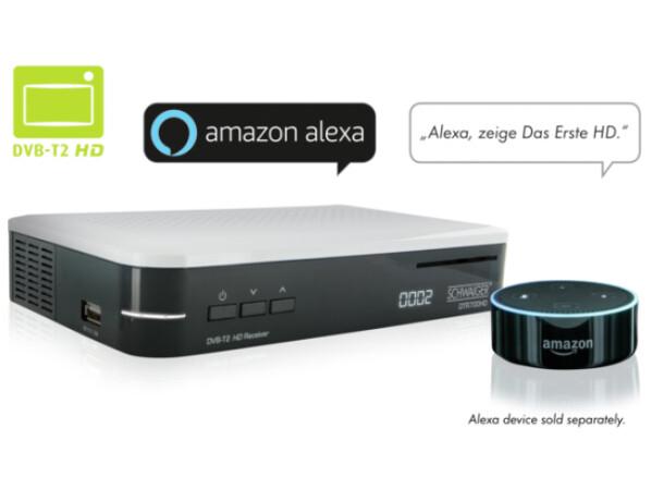 Penny Angebot Dvb T2 Receiver Mit Alexa Sprachsteuerung Für Nur 25