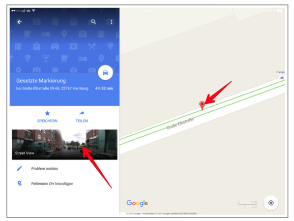 Google Maps-App: Street View aktivieren - so geht's