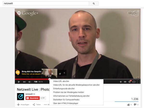 Youtube Link Zu Einer Bestimmten Video Position Verschicken Netzwelt