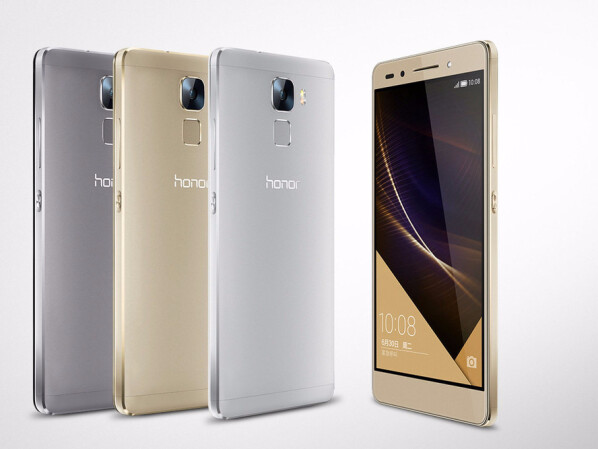 Huawei Honor 7: Neues Smartphone mit Fingerabdruck-Scanner ...