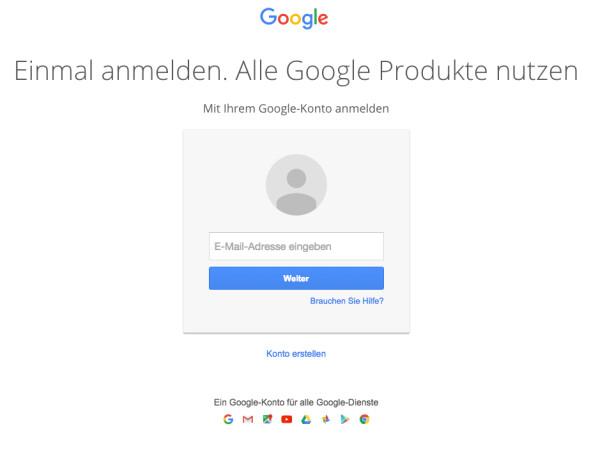 Google Pw Ändern