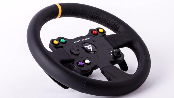 gaming lenkrad thrustmaster leather 28 gt wheel add on. Black Bedroom Furniture Sets. Home Design Ideas