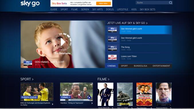 Sky Go Desktop App startet nicht | Sky & Friends