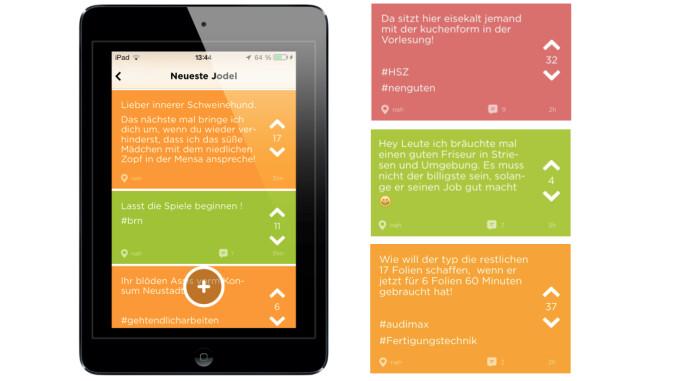 chats für junge leute finya app