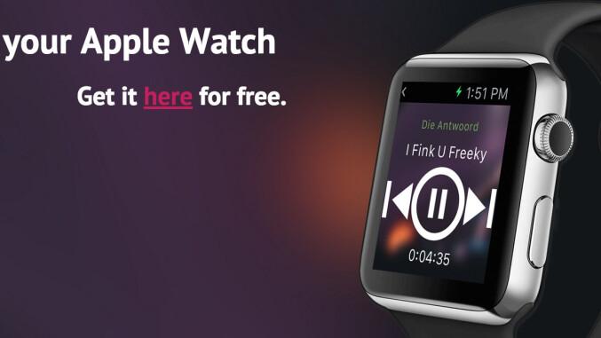 gratis app watchify spotify mit der apple watch steuern. Black Bedroom Furniture Sets. Home Design Ideas