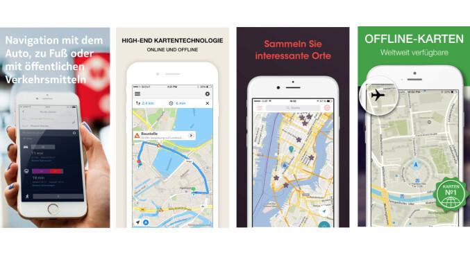 Alternativen zu Google Maps? Netzwelt hat vier Anbieter (Here Maps, City Maps 2Go, MAPS.ME Offline Karte & Routen und GPS Navigation, Maps & Traffic - Scout) verglichen.