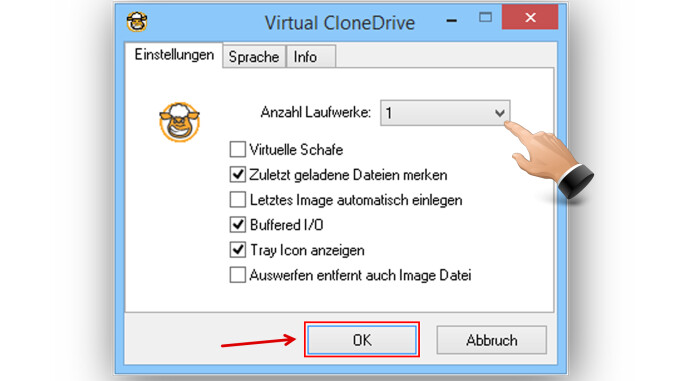 iso datei erstellen virtual clone drive Virtual clone drive can mount up to 8 virtual drives at the same time i find the iso file and slysoft virtual clonedrive mounts the iso file to windows as if.