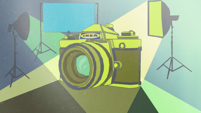 Foto hack so verwandelt ihr ikea produkte in fotostudio for Faltjalousie ikea
