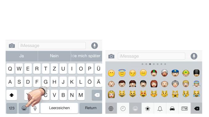 Apple iOS 8: Punkt als Satzzeichen eingeben - NETZWELT