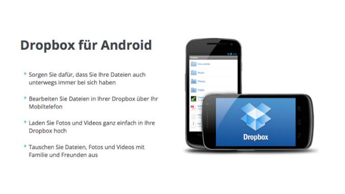dropbox f r android ordner herunterladen und synchronisieren netzwelt. Black Bedroom Furniture Sets. Home Design Ideas