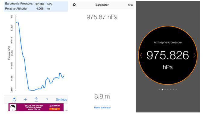iphone 6 diese barometer apps zeigen den luftdruck an. Black Bedroom Furniture Sets. Home Design Ideas