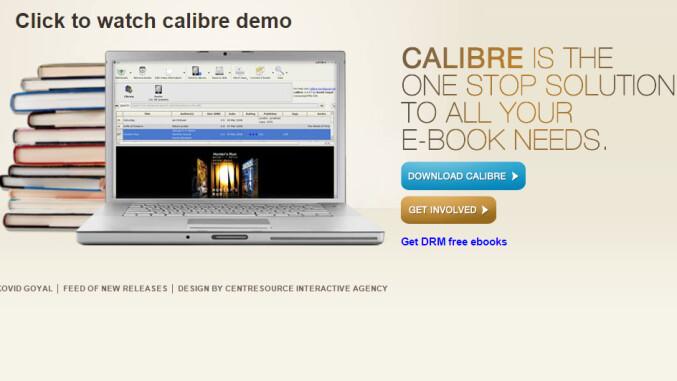 Calibre Screenshot