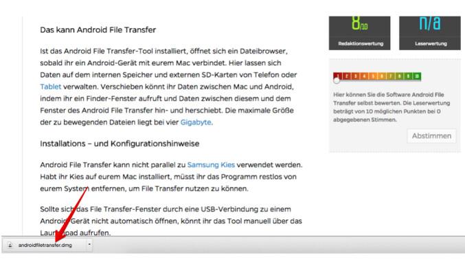Mac Android Ger 228 T Anschlie 223 En Und Daten Austauschen