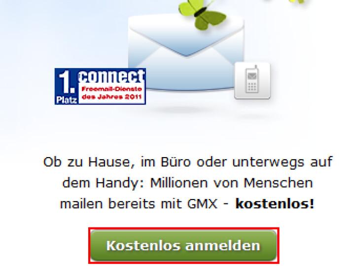 Gmx kostenlos erstellen