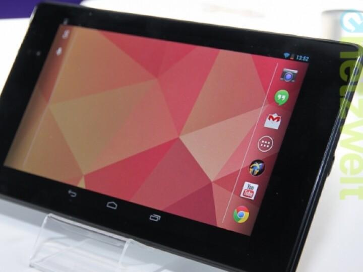 Die Bildschirmdiagonale hat die Neuauflage mit seinem Vorgänger noch gemeinsam. Aber es gibt viele sinnvolle Verbesserungen am Google Nexus 7 der zweiten Generation.