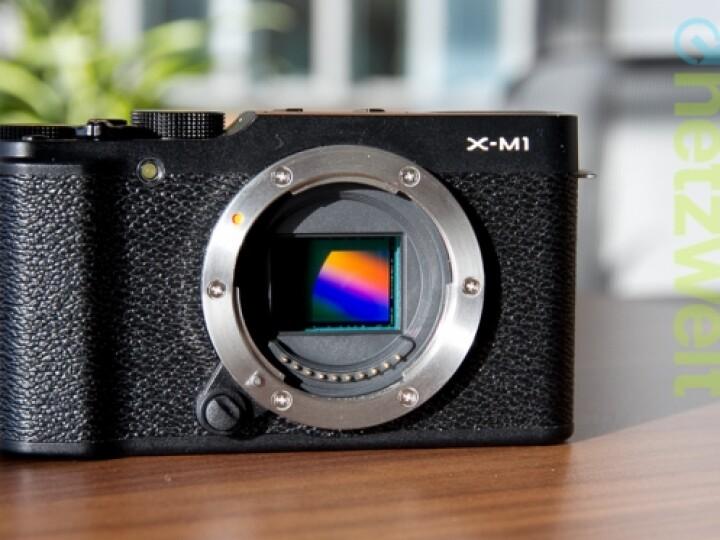 Der X-Trans CMOS-Sensor ist eine Eigenentwicklung von Fujifilm und unterscheidet die Systamkamera von anderen Digitalkameras.