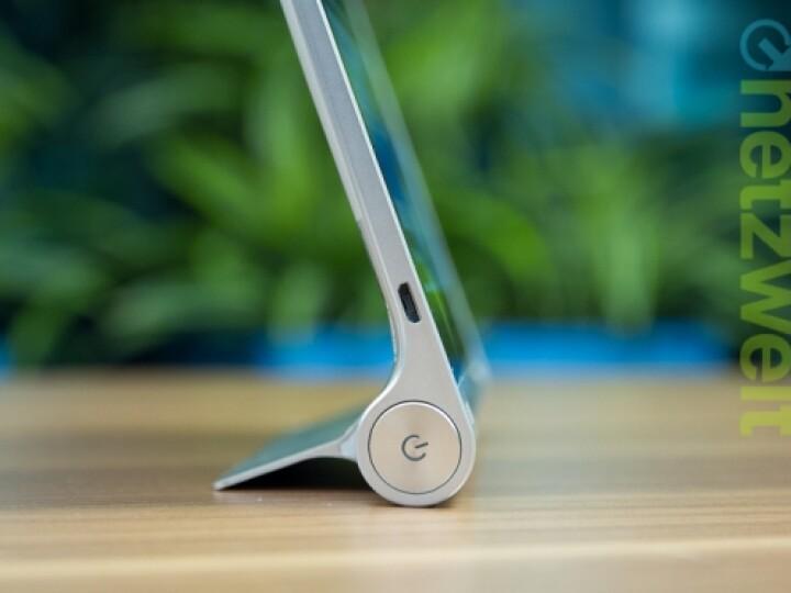 Was ist denn hier los? Lenovo hat das von den Ultrabooks bekannte Yoga-Prinzip auf einen Tablet-Computer übertragen.