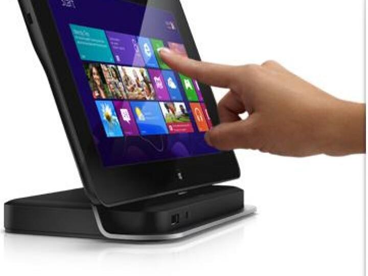 Gegen Aufpreis liefert Dell eine sicherlich praktische Dockingstation für das Tablet mit.