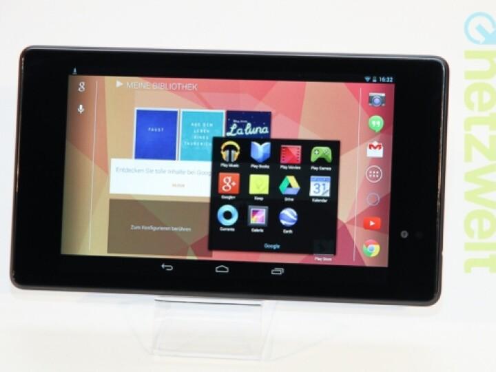 Auch beim gleichzeitigen Öffnen mehrerer Anwendungen kommt die Nexus-Hardware nicht ins Schwitzen.